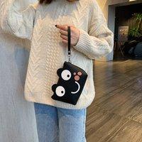Kosmetische Taschen Hüllen 2021 Damen Tasche Koreanische Version Nette Waschvorrat Mode Einfache Clutch Casual Frauen