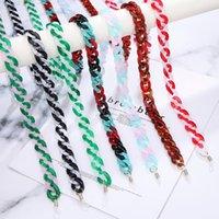 Andere Mode Accessoires Eueavan Sommer Acryl Landyard Geschenk Großhandel Multicolor Anti-Rutsch Gläser Kettenschnur Halter Halsband