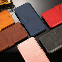 Vintage Leather Flip Wallet Case For iPhone 11 Pro X XS MAX ...
