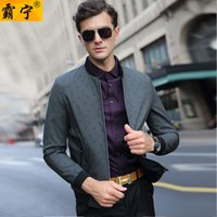 Middle- aged Men' S Wear Casual Jacket 2018 Autumn Middle...
