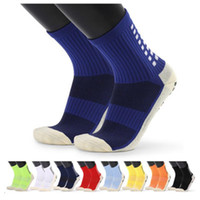 Top Soccer Team Sports Socks Mens Professional Mid Tubo Toalla Toalla Baskets Baskets Masculino Anti Skid Goma Grips Elite Socksait Unisex