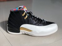nike air jordan 12 12 CNY mens chaussures de basket-ball XII WNTR hiverisé vol international CLASSE DE 2003 Michigan UNC Bulls Bordeaux Taxi baskets