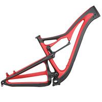 Pintura 27.5er Boost 29er Boost All Mountain Bike Bike Frame completo Suspensão Frame de Mountain Bike Frame FM356