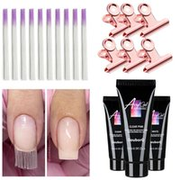 Major Dijit Fiberglass Nail Extension Fibers Clamps UV Polyg...