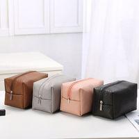Old Cobbler Direct Deal Direct Bag Cosmetico Arredamento per la casa Deposito a mano Maniglia Moda Coreana Edition Wash Bags Pure Color Textile Pattern Top Quality