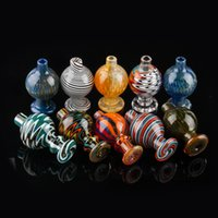 2020 US Color Glass Bubble Carb Cap UV Ball Carb Caps For Be...