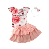 Girl Clothes 2020 Spring Newborn Toddler Baby Girl Clothes S...