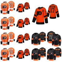 2019 Stadio Serie Philadelphia Flyers maglie 28 Claude Giroux Jersey 17 Wayne Simmonds Nolan Patrick Carter Hart Sean Couturier cucita