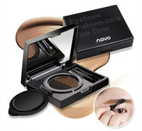 NOVO two- color air cushion eyebrow dyeing eyebrow cream Natu...