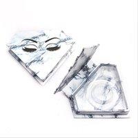 도매 다이아몬드 가짜 속눈썹 포장 상자 가짜 3D 밍크 속눈썹 상자 가짜 CILS 마그네틱 케이스 속눈썹 빈