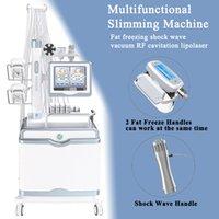 Máquina de onda de choque de baixa intensidade da terapia do choque da terapia do salão de beleza para o emagrecimento gordo do congelamento gordo da gordura do vácuo do vácuo do vácuo da lipoaspiração ultra-sônica