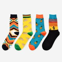 New Spring Arrival Autumn Unisex Happy Socks Art Abstraction...