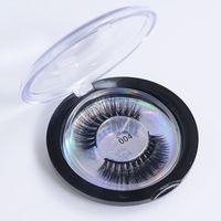 27 estilos Pestañas postizas Pestañas de visón 3D Pestañas de proteínas de seda 3D Pestañas postizas gruesas naturales suaves Pestañas de ojos Maquillaje para belleza