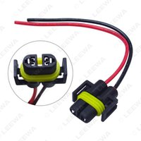 FEELDO 10PCS H11 Female Adapter Wiring Harness Sockets Car Auto Wire Connector Cable Plug For HID LED Headlight Fog Lights Lamp Bulb #5454