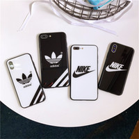 For iPhone XS MAS XR X 8 6 6S 7 plus Frame Bumper glass case...