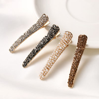 1Pcs Bling Crystal Hairpins Headwear For Women Girls Rhinest...