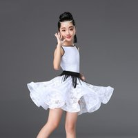 Lace Standard Ballroom Dancing Dresses for Kids Competition ...