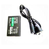 Adaptador de CA pared del hogar del cargador de la fuente de alimentación con cable USB para Sony PS Vita PSV
