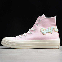 New Golf Le Fleur x Chuck 70 Hi Flame Pink Blue flame Casual...