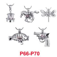 Moda 300 estilos amor de pérolas Gaiolas Suspensões Colar Pulseira DIY jóias fazendo oco Abertas Beads Medalhões Colar encantos Colares