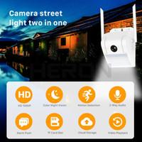 1080 P Wireless Wifi Ip Camera V380 HD Lampada Da Parete Luce di Via Della Macchina Fotografica Esterna Impermeabile A Due Vie Audio di sorveglianza di Sicurezza Domestica Video cam