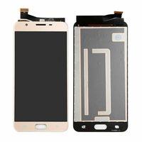 LCD Ekran Samsung Galaxy J7 Için Ekran Digitizer Ekran G610 G610F G610M G610Y G610F / DS Yedek Parçalar Siyah