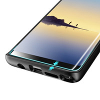Für Glas Samsung Galaxy S9 S8 Plus S7 Rand 3D Full Coverage Fingerprint Unclock gehärtetes Glas Displayschutzfolie SSC006