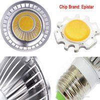 PAR20 COB Шарик Dimmable Spotlight GU10 E27 высокой мощности светодиодные светильники светодиодные лампы белый / теплый белый / холодный белый свет пятна