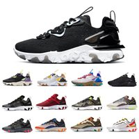 Nike React Vision 2020 Black Iridescent React Vision element 87 55 mens running shoes UNDERCOVER triple white Taped Seams men women sports designers sneakers