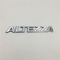 För Toyota Altezza Emblem Bakstäng Trunk Logo Badge Chrome Letters Stickers