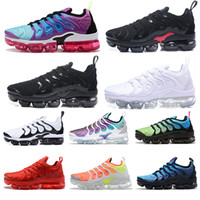 2020 TN Mens Mais de Running Shoes Real Smokey malva Cordas Colorways de oliva em Designer Metallic Triplo Branco Preto Esporte Formador Sneakers