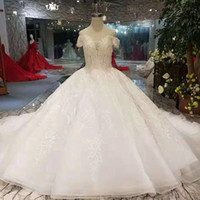 Classic Style Ball Gown Wedding Dresses Like White Sweethear...