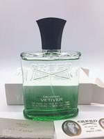 الترويج هدية العطور العقيد سانتال الأخضر الإيمان الأصلي Vetiver للرجال طعم العطور للرجال كولونيا 120 ملليلتر عطر عالية نوعية جيدة