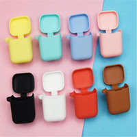 Solid color silicone case for xiaomi air bluetooth wireless ...