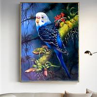Uccello fai da te 5D diamante Pittura Animali pappagalli resina trapano circolare ricamo punto croce strass decorazione pittura