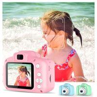 """Дети цифровая камера 2 """"HD экран зарубежной мини камеры дети мультфильм камеры игрушки игрушки открытый фотография реквизит для ребенка день рождения рождество"""