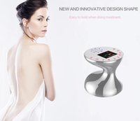 2019 NEW Patent Design RF Ultrasonic Photon Body slimming Device with Color LCD Display electric RF Body Slimming machine Beauty equipment