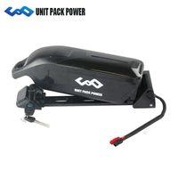 США ЕС нет налога 48V 12ah Дельфин батареи использовать Samsung / NCR 18650 клетки E-велосипед батареи 48V 11.6 Ah литий-ионный аккумулятор + 54.6 V 2a зарядное устройство