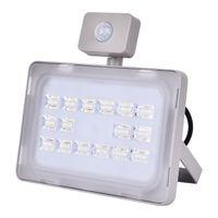 Al aire libre del accesorio de iluminación de luz de inundación llevó el reflector del LED 50W 110V-120V Foco Lámpara impermeable Calle iluminación del paisaje
