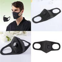 Erwachsene Mund Atemschutzmasken Atemventil Gesichtsmaske Pollen Steuerung Sicherheit Warmhalte Aspiratoren Earloop 6 98mh UU