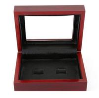 صندوق خشبي بطولة حلقة عرض القضية صناديق خشبية للحلقة 2 3 4 5 6 ثقوب لاختيار خواتم وجمع حرية الملاحة