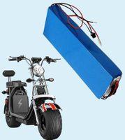 Yedek Şarj Edilebilir Piller 60 V 18AH Lityum İyon Pil Pilleri BMS ve Çince 18650 Hücreli Harley Elektrikli Scooter