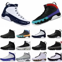 9 Dream It, Fallo UNC Bred Lakers Space Jam Antracite Statue Barons Uomo Scarpe da basket Sneakers economici Nuovo IX 9s Sport Trainer