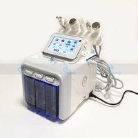 Многофункциональная машина для лица Hydra Beaial 6in1 H2 O2 Aqua Water Hydro Dermabrasion Oxygen Jet Ceel RF Bio Ультразвуковая уход за кожей оборудование