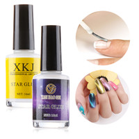 15ml DIY Galaxy Star Adhesive Nail Art Glue Gel Transfer Decal Accessories Manicure Tools for Foil Sticker Transfer Tips