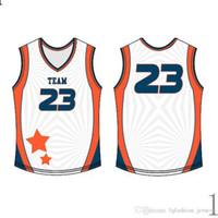 Hommes 2020 Jersey surpiqués Logos Basket Vêtements de haute qualité S-XXXL bon marché de gros roidery Logos Bleu White1011111111111111