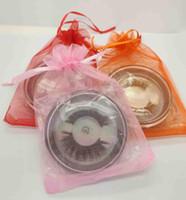 28 أساليب اختيار 3D FAUX ثعلب الماء شعر الرموش 3D بروتين الحرير جلدة 100٪ القسوة مجانية المسرحية الكاذبة الرمش ماكياج ناعم طبيعي سميك