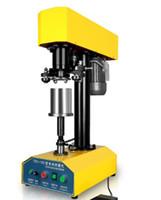 kalay makinesi otomatik masaüstü kalay sızdırmazlık çapı Ajustable kalay / plastik / kağıt sızdırmazlık maddesi olabilir can kapak seamer