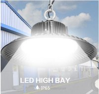 high Bay Light led 50W 100W 150W 200W UFO 6000K 20000Lm IP65...