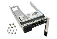 """3.5"""" SAS X7K8W disco duro SATA bandeja Caddy Caja con 2,5"""" disco duro 9W8C4 soporte adaptador compatible con los servidores PowerEdge R440"""